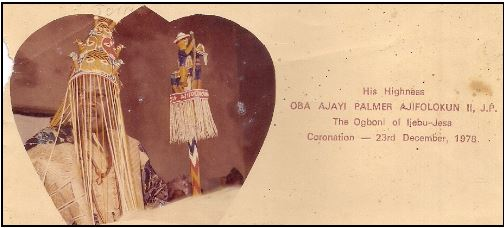 Oba Ajayi Palmer