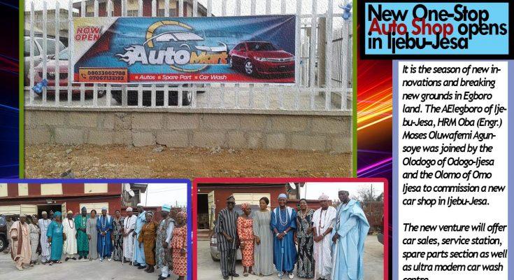 New One-Stop Auto Shop opens in Ijebu-Jesa
