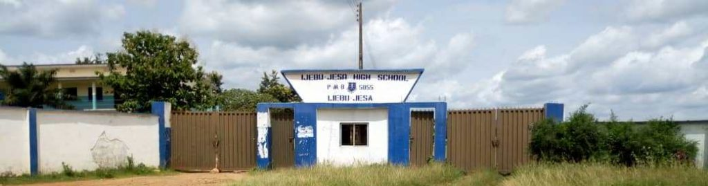 IJEBU JESA GRAMMAR SCHOOL FRONT SIDE VIEW